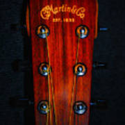 Martin And Co. Headstock Poster