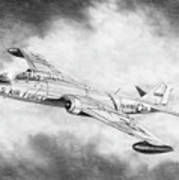 Martin B-57 Intruder  Poster