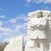 Martin Luther King Dc Memorial Poster