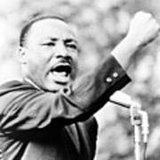 Martin Luther King, Jr., Gesturing Poster by Everett