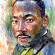 Martin Luther King Jr. Painting Poster