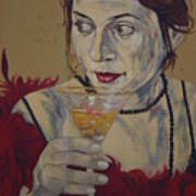 Martini Lady Poster