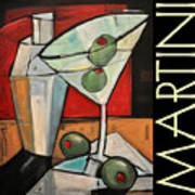 Martini Poster Poster