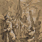 Martyrdom Of Saint Andrew Poster