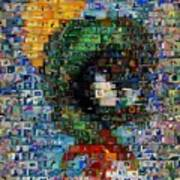 Marvin The Martian Mosaic Poster by Paul Van Scott