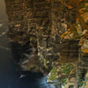 Marwick Head Orkney Scotland Poster