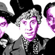 Marx Brothers Poster by DB Artist