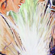 Mary Visits Elizabeth Poster