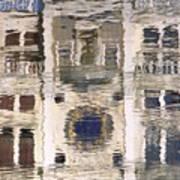 Marzaria Clocktower Reflection Poster
