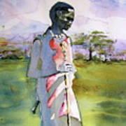 Masaai Boy Poster