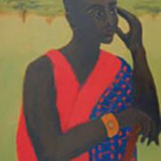 Masaii Warrior Poster by Renee Kahn
