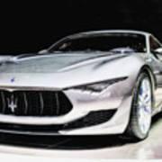 Maserati Alfieri Concept 2014 Poster