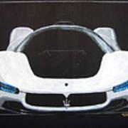 Maserati Birdcage 75th Concept Poster