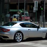 Maserati Granturismo S Poster