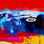 Maserati On The Race Track 1 Poster