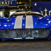 Maserati Racer Poster