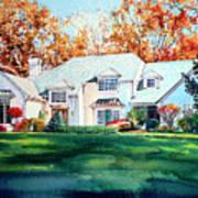 Massachusetts Home Poster