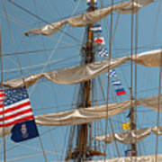 Mast Flags Poster
