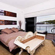 Master Bedroom With A View Poster