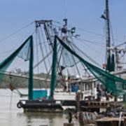 Matagorda Fishing Boats Poster