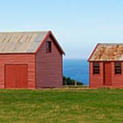 Matanaka Historic Site - Red Barn Poster