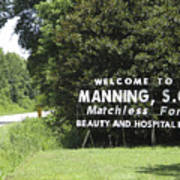 Matchless Manning Poster