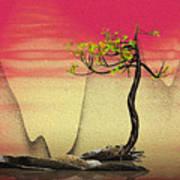 Math Pine 2 Poster