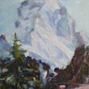 Matterhorn At 8 Pm Poster