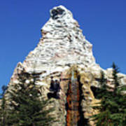 Matterhorn Disneyland Poster