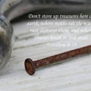Matthew 6 Poster