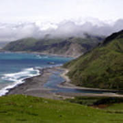 Mattole River Mouth Poster