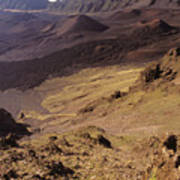Maui, Haleakala Crater Poster