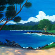 Maui Inlet Poster