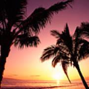Maui, Kaanapali Beach Poster