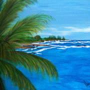 Maui Palm Poster