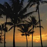 Mauna Loa Sunset - Big Island Hawaii Poster