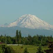 May Mt. Rainier Poster