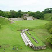 Mayan World Poster