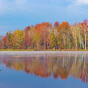 Mayor's Pond, Autumn, #2 Poster