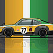Mazda Savanna Gt Rx3 Racing Yoshimi Katayama 1975 Poster
