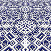 Maze Pattern Poster