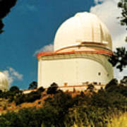 Mcdonald Observatory At Mt. Locke Poster