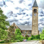 Mcgraw Tower Cornell University Ithaca New York Pa 10 Poster