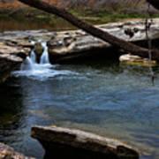 Mckinney Falls State Park-upper Falls 6 Poster