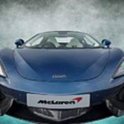 Mclaren Sports Car Poster