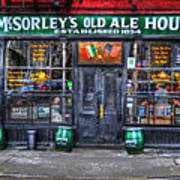 Mcsorley's  In Color Poster