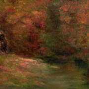 Meadow In Fall Poster