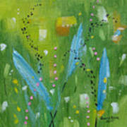 Meadow Musing Poster