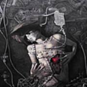 Mechanical Girl Poster