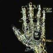 Mechanical Hand Poster